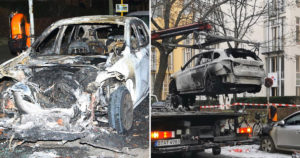 pro life journalists car torched