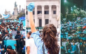 Thousands join rallies across Argentina against new abortion bill